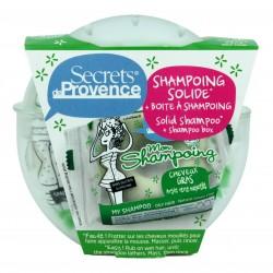 Organiczny szampon w kostce...