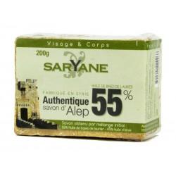 Mydło Aleppo 55% Saryane